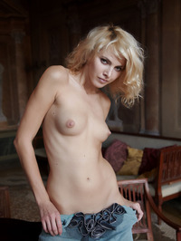Erotic Blonde Lilly 13