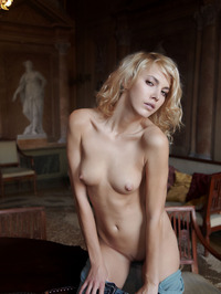Erotic Blonde Lilly 14