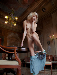 Erotic Blonde Lilly 16