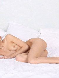 Leonie Spreading Her Tight Pussy 09