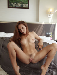 Zara Exposing Her Meaty Pussy 06