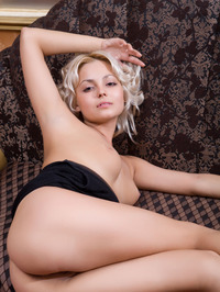 Adorable Blonde Martha Shows Her Sexy Naked Body 16