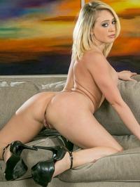 Kagney Linn Karter Posing Naked 11