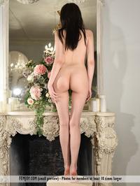 Tiny Teen Girl Mimi Naked On The Sofa 13