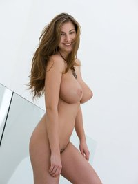 Frisky Brunette Connie Carter 13