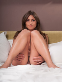 Erica J Naked On The Bedroom 03