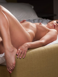 Erica J Naked On The Bedroom 09
