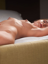 Erica J Naked On The Bedroom 11