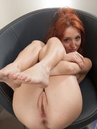 Redhead Babe Foxy Getting Hot 05