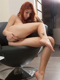 Redhead Babe Foxy Getting Hot 13
