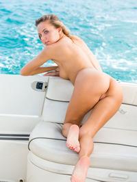Katya Clover Naked In Private Boat 06