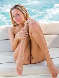 Katya Clover Naked In Private Boat 11