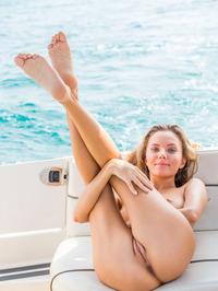 Katya Clover Naked In Private Boat 13