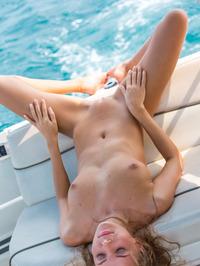 Katya Clover Naked In Private Boat 16