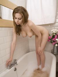 Olivia Rabanal Takes A Bath 13