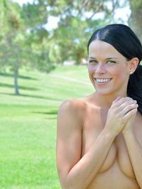 Naughty Mya Gets Naked At The Park 04