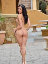 Marley Brinx Flashing Ass And Pussy 07