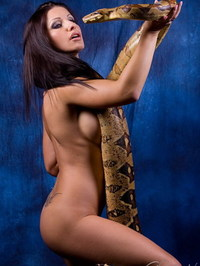 Nikki Rider With Snake 12
