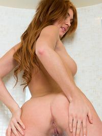 Natural Big Boobed Redhead Hottie Genie Agila 12