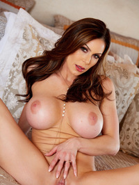 Big Boobed MILF Kendra Lust Strips Off Her Sexy Lingerie 17