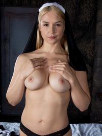 Nun Sara Sloane Masturbates 03