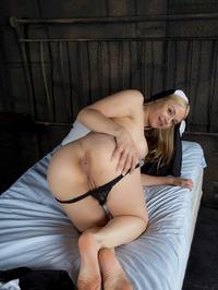 Nun Sara Sloane Masturbates 05