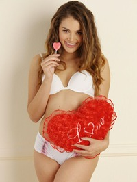 Allie Haze Pink Dildo 01