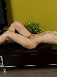 Lana Zeal Taking Off Skinny Jeans 09