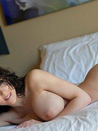 Katie Banks white sheets 08
