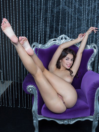Evita Lima Naked Behind Beads Curtain 12