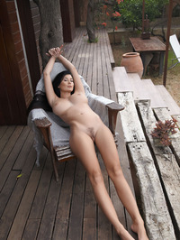 Lucy Li Naked Outdoors 05