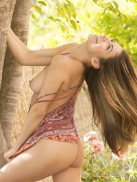 Delightful Nina North Srtips To Naked 19