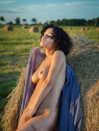 Pammie Lee  Srtips To Naked In The Nature 11