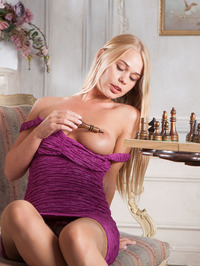 gorgeous busty blonde Sarika A 02