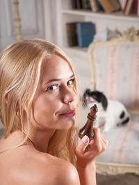 gorgeous busty blonde Sarika A 03