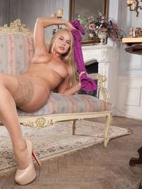 gorgeous busty blonde Sarika A 05