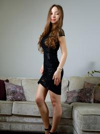 sexy in her little black dress 00