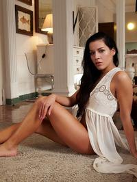 beautiful Czech brunette Eveline 00