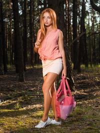 Natural redhead Michelle H 00