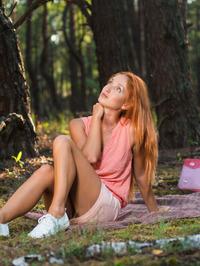 Natural redhead Michelle H 04