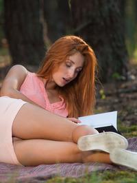 Natural redhead Michelle H 06
