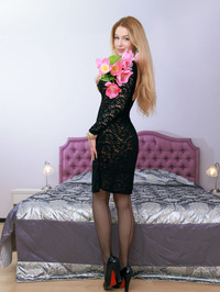 Russian starlet Genevieve Gandi looks absolutely stunning 02