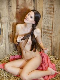 Leggy brunette Lauren Crist 14