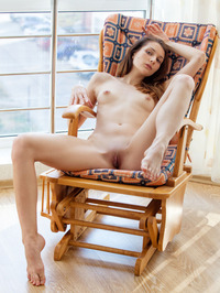 Nurra Poses Nude By The Window 08