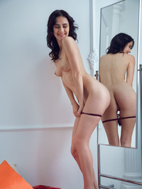 Mona Gets Naked In Her Bedroom 06
