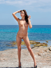 Perfect Teen Michaela Isizzu Naked On The Beach 05