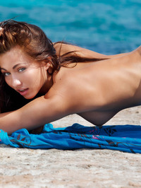 Perfect Teen Michaela Isizzu Naked On The Beach 08