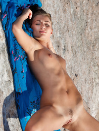 Perfect Teen Michaela Isizzu Naked On The Beach 12