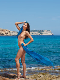 Perfect Teen Michaela Isizzu Naked On The Beach 16