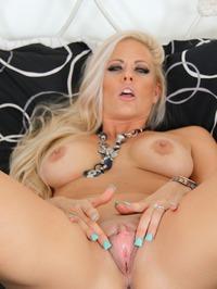 Busty Blonde Mommy 13